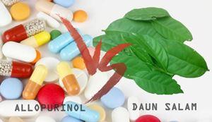 Allopurinol Vs Daun Salam untuk Penyakit Asam Urat