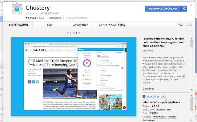إضافة لمنع المواقع من تتبع نشاطاتك على المتصفح