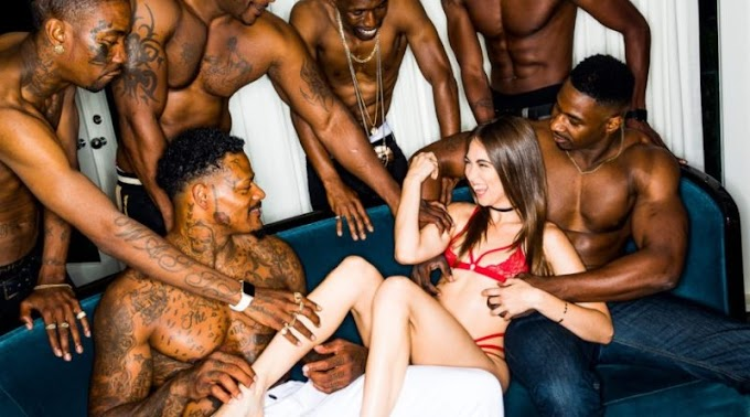 BlackedRaw – Riley Reid Girlfriend Gangbang At The After Party (26.06.2018)