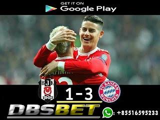 Besiktas 1-3 Bayern Munchen