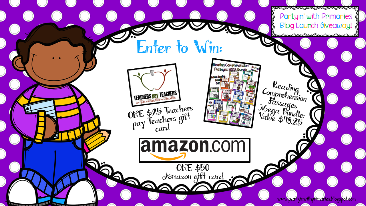 Blog Launch Giveaway