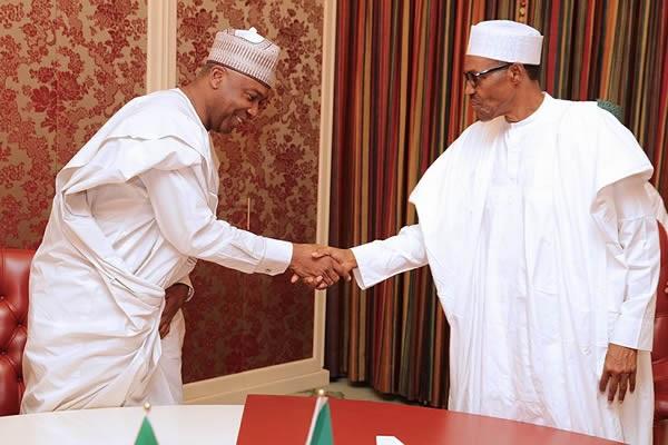 President Buhari, Saraki meet over 2017 Budget