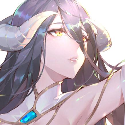 Albedo Overlord Anime Wallpaper
