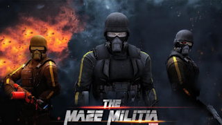 MazeMilitia: LAN, Online Multiplayer Shooting Game v1.9 Mod Apk