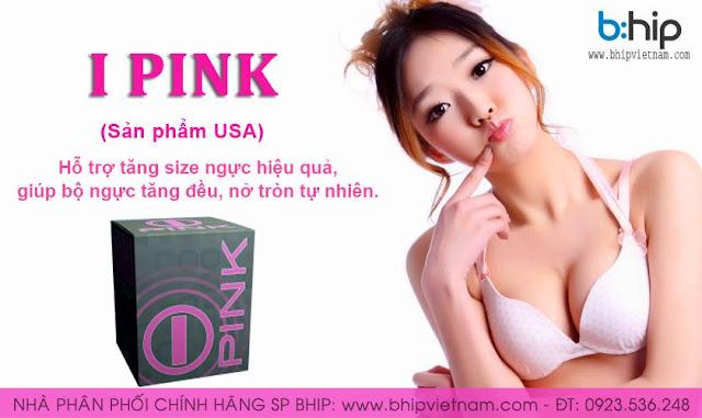 Thuốc nở ngực IPINK giá bao nhiêu, pink tăng vòng 1