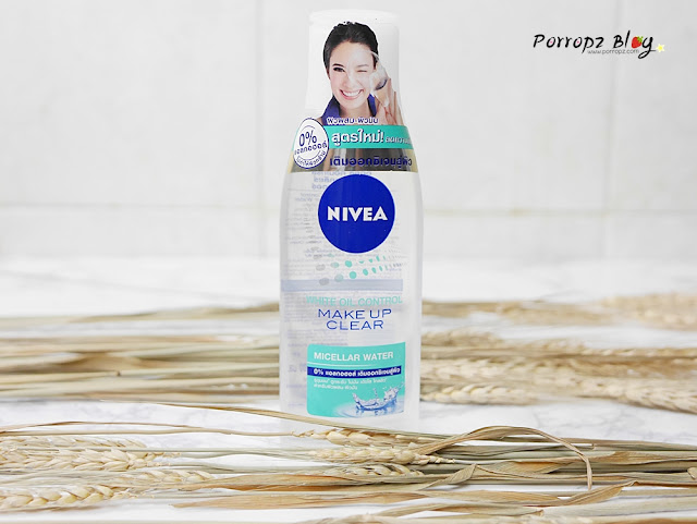 Nivea White Oil Control Makeup Clear Micellar Water
