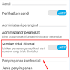 Aktifkan Sumber Tak Dikenal (Unknown Source) Di Hp Xiaomi Atasi Tidak Dapat Instal Apk
