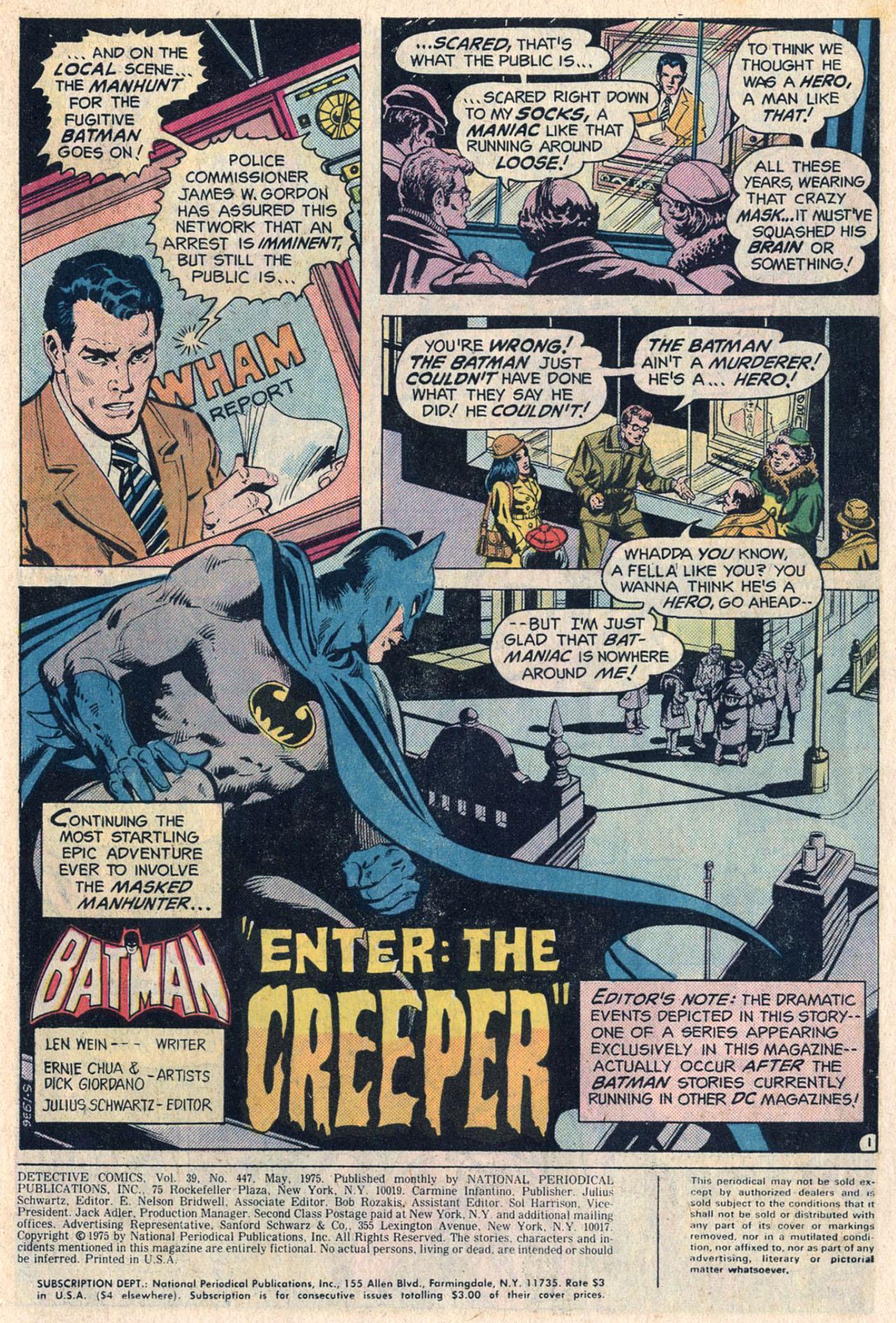 Detective Comics (1937) 447 Page 2