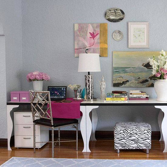 New Home Interior Design: Home Office Storage