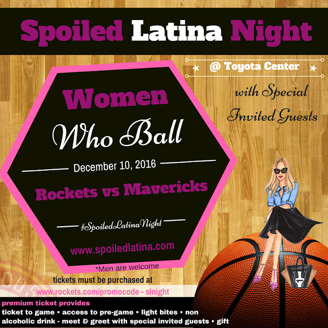 SpoiledLatina Night with The Houston Rockets...join Me!