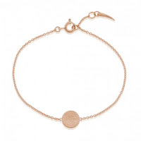 Tembo Pembe 18ct Rose Gold Vermeil Bracelet