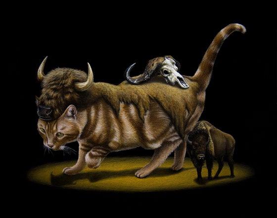 Bizarre Animal Paintings-10
