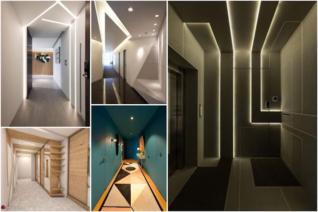 Decorative Gypsum Board Corridors