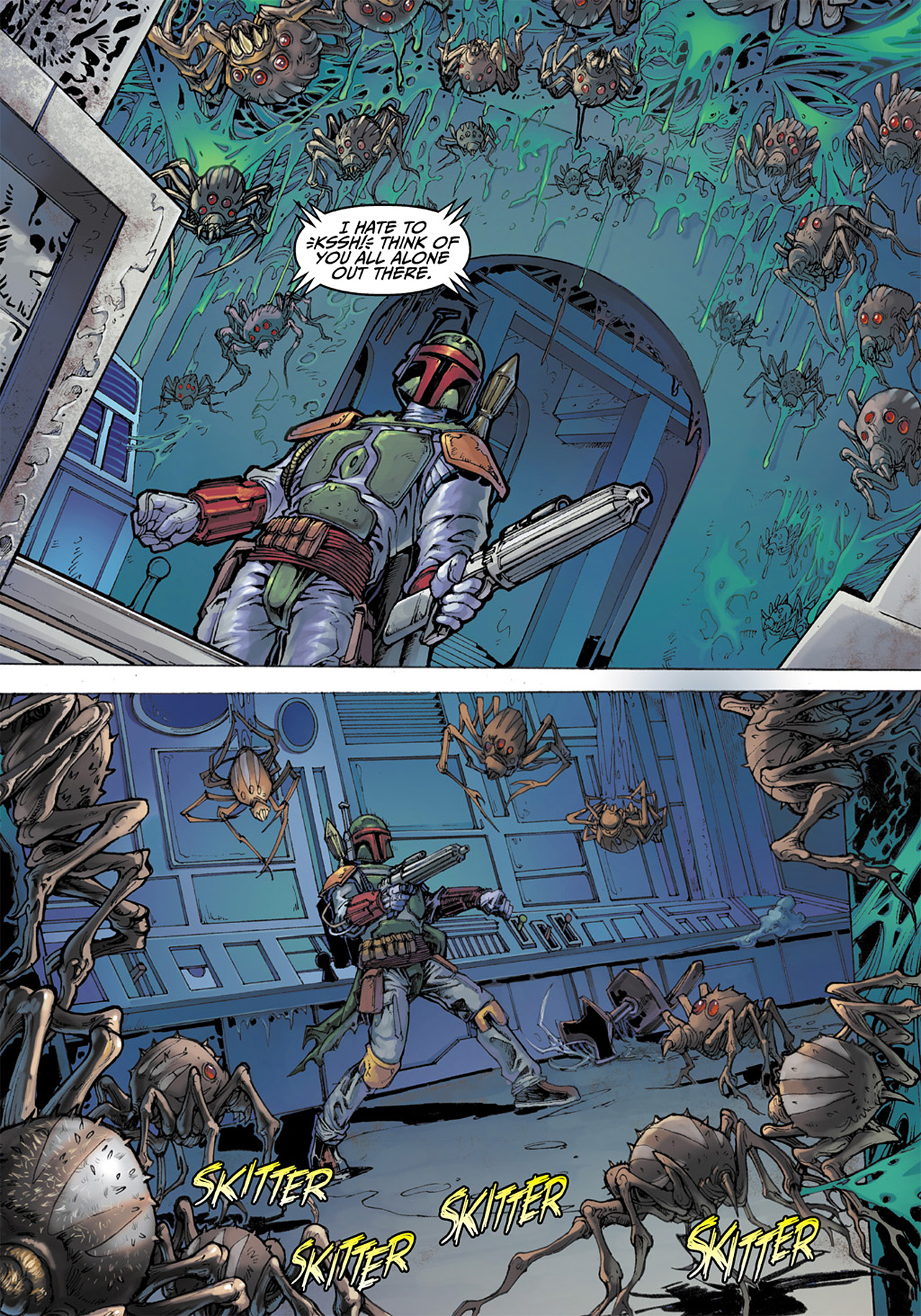 Read online Star Wars Adventures comic -  Issue # Issue Boba Fett and the Ship of Fear - 27