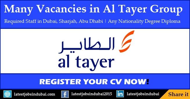 Al Tayer Group careers and job vacancies in Dubai
