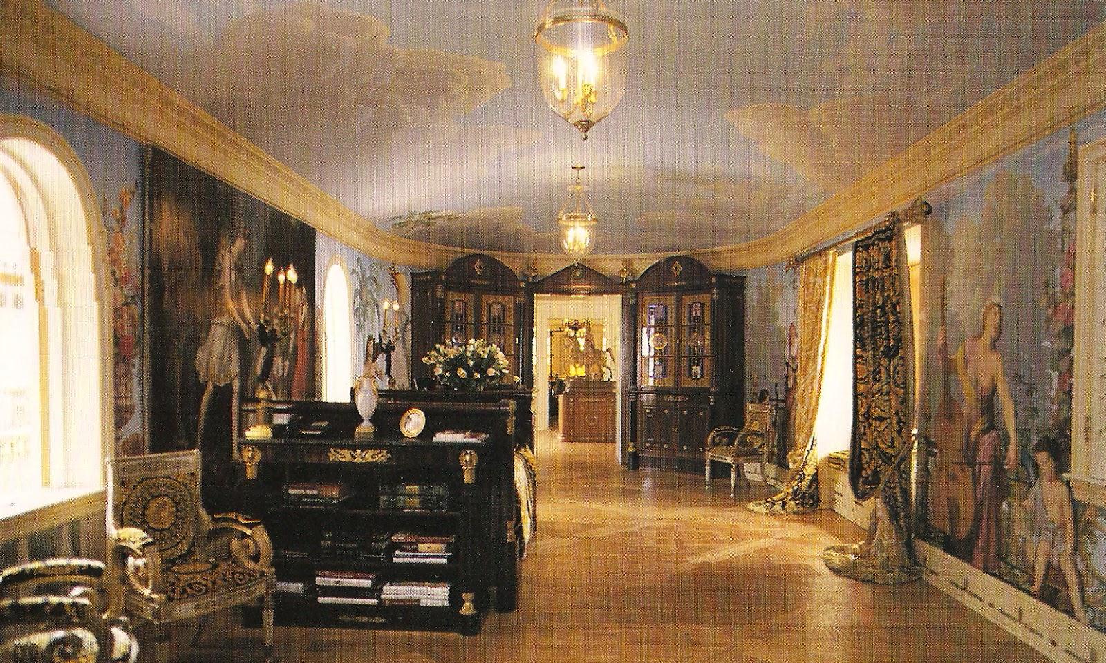 Salon Versace Cuisine Studio Xl Rouge Salon Versace Fournisseur  # Muebles Versace