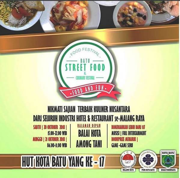 batu street food festival 2018