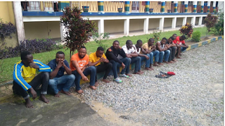 Dreaded Wanted Cultists Arrested By Police In Calabar. Photos