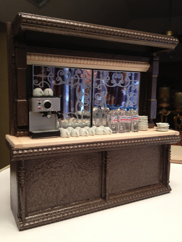 Jocelyn S Mountfield Dollhouse Update Coffee Shop