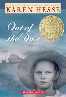 analysis of out of dust a verse novel by american author karen hesse The verse novel and the question of genre such novel karen hesse, ron koertge out of the dust (hesse, 1997.