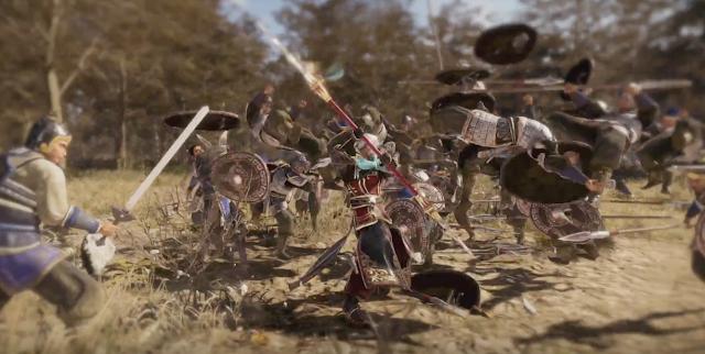Dynasty Warriors 9 llegará a principios de 2018 y comparte vídeo