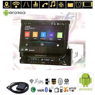 "autoradio 1 din 7"" android bluetooth gps wifi usb xianping"