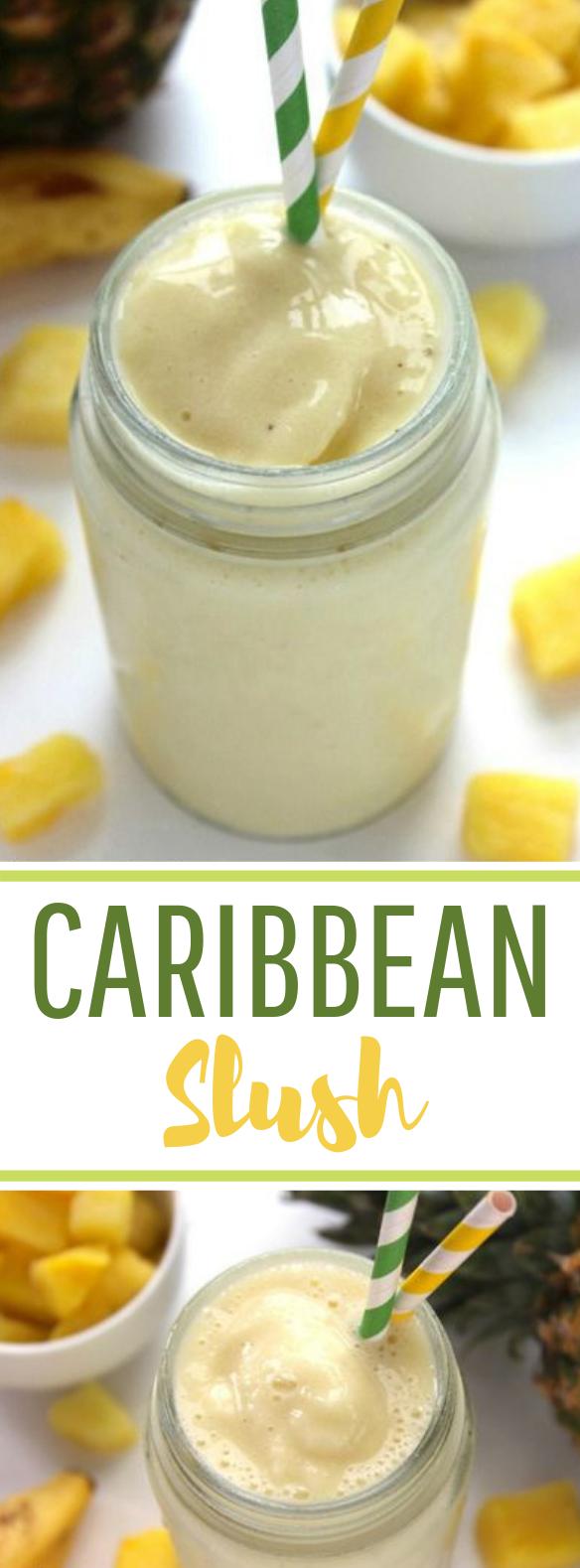 Caribbean Slush #summer #freshdrink