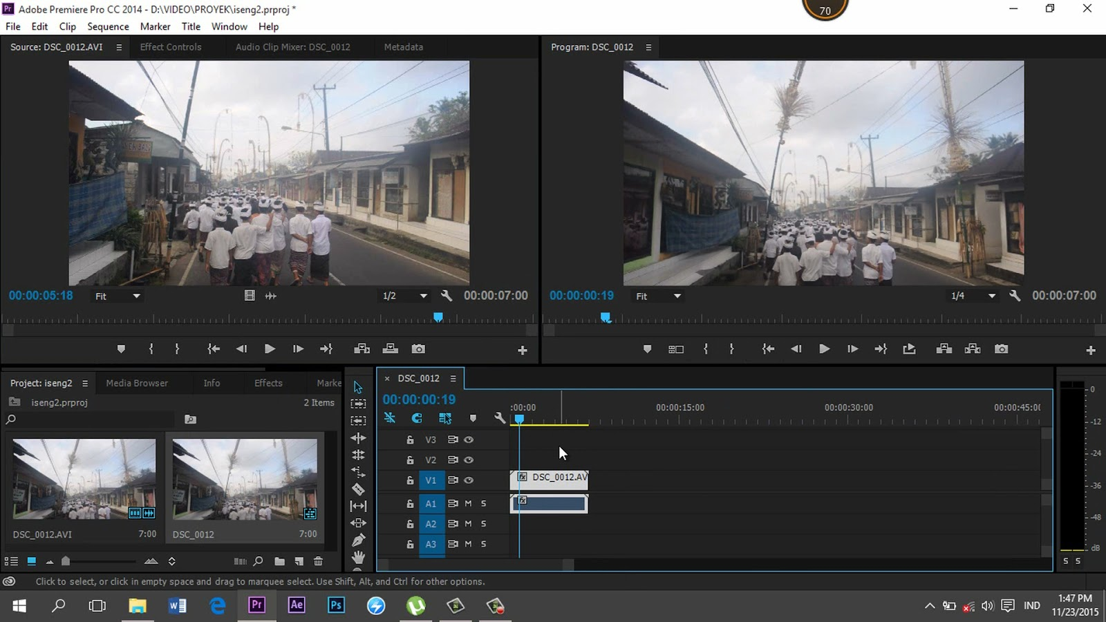 Tutorial - How to Reduce or Stabilizing Video Shaking with Adobe