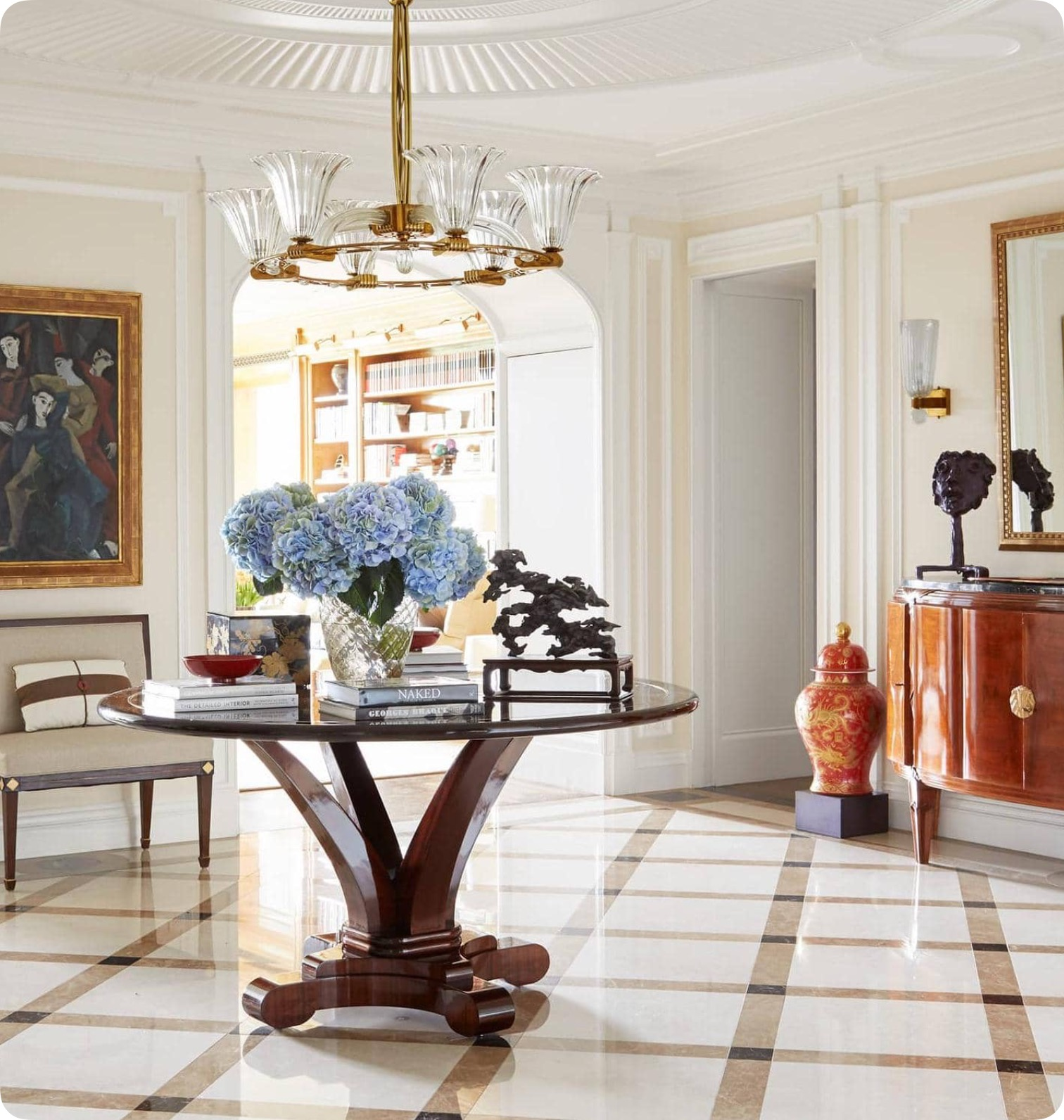 Splendid Sass  ROOM OF THE DAY  DESIGNER ELLIE CULLMAN Design by Ellie Cullman
