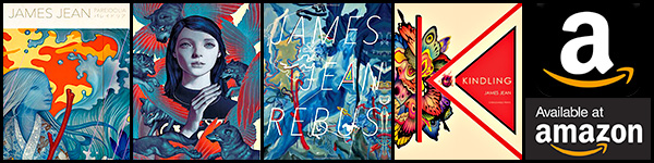 Amazon - James Jean Artbooks banner > http://amzn.to/2oekkzl