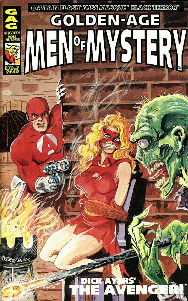 Read online Golden-Age Men of Mystery comic -  Issue #5 - 1