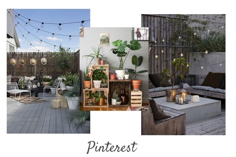 DECO : Inspirations Pinterest pour la terrasse / www.by-laura.fr
