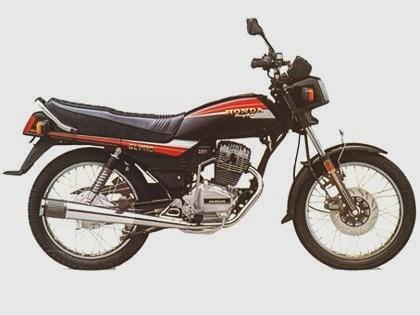 Motor Honda Jadul Lebih Dulu Pakai 'Air Suspension'