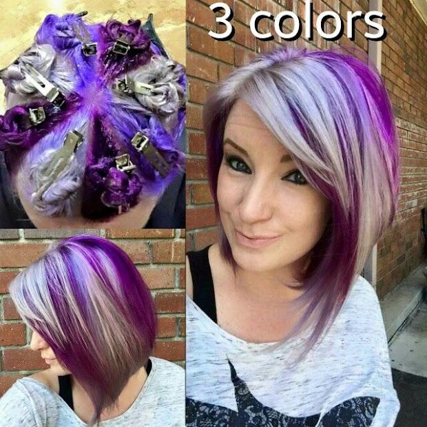 hot hair coloring technique