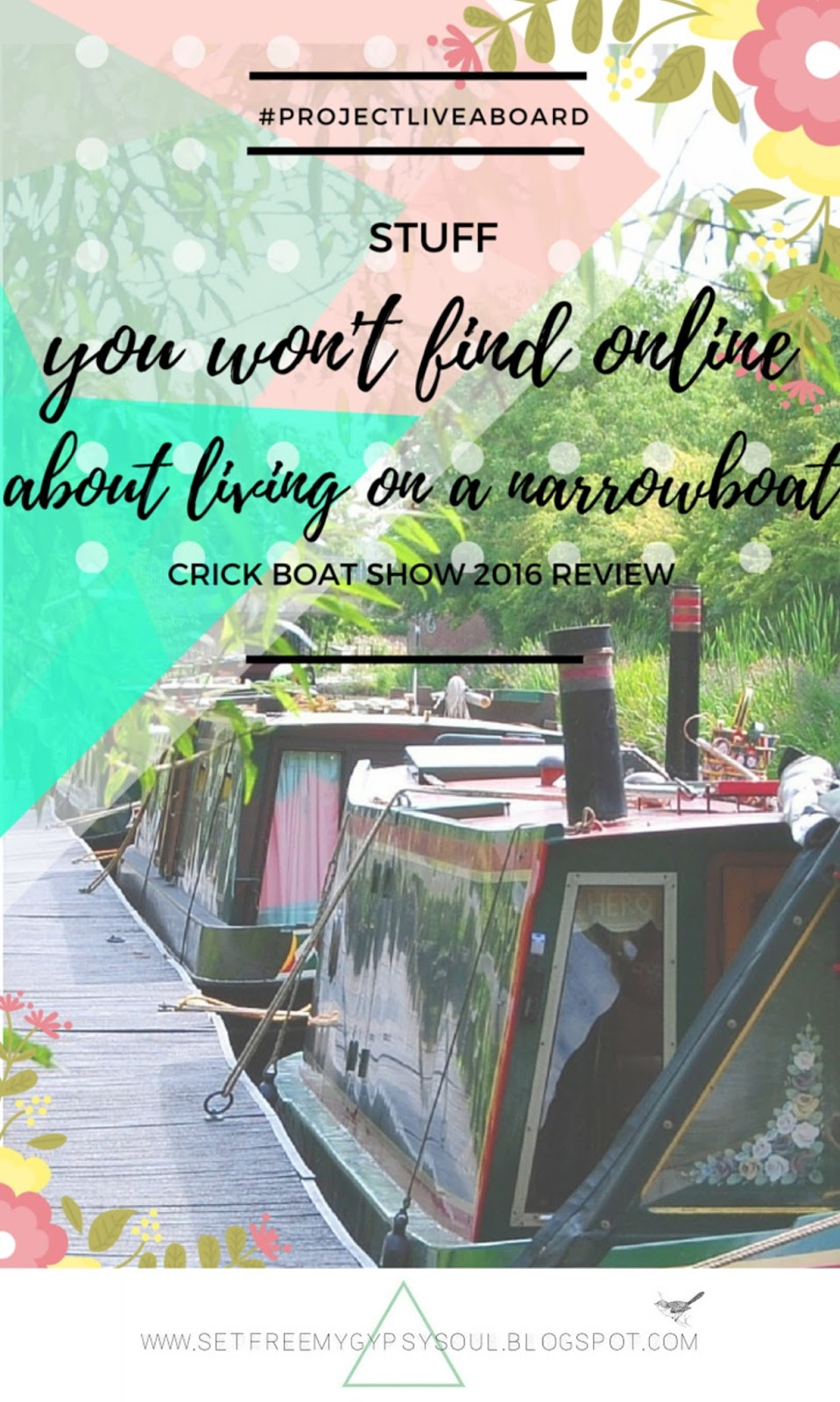 narrow boat living life on canal tips tricks information crick seminars