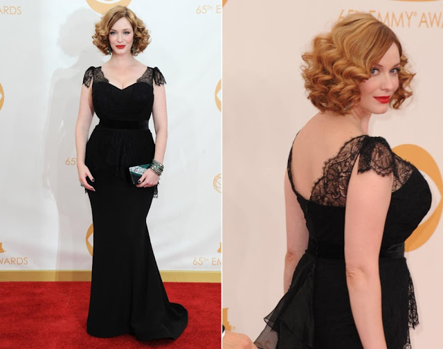 Christina Hendricks in Christian Siriano -2013 Emmy Awards