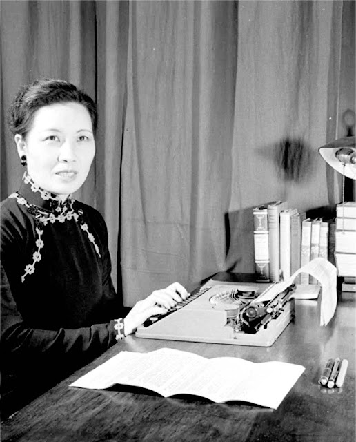 An Old Picture of Madame Chiang Kai-shek (aka.Soong Mei-ling)