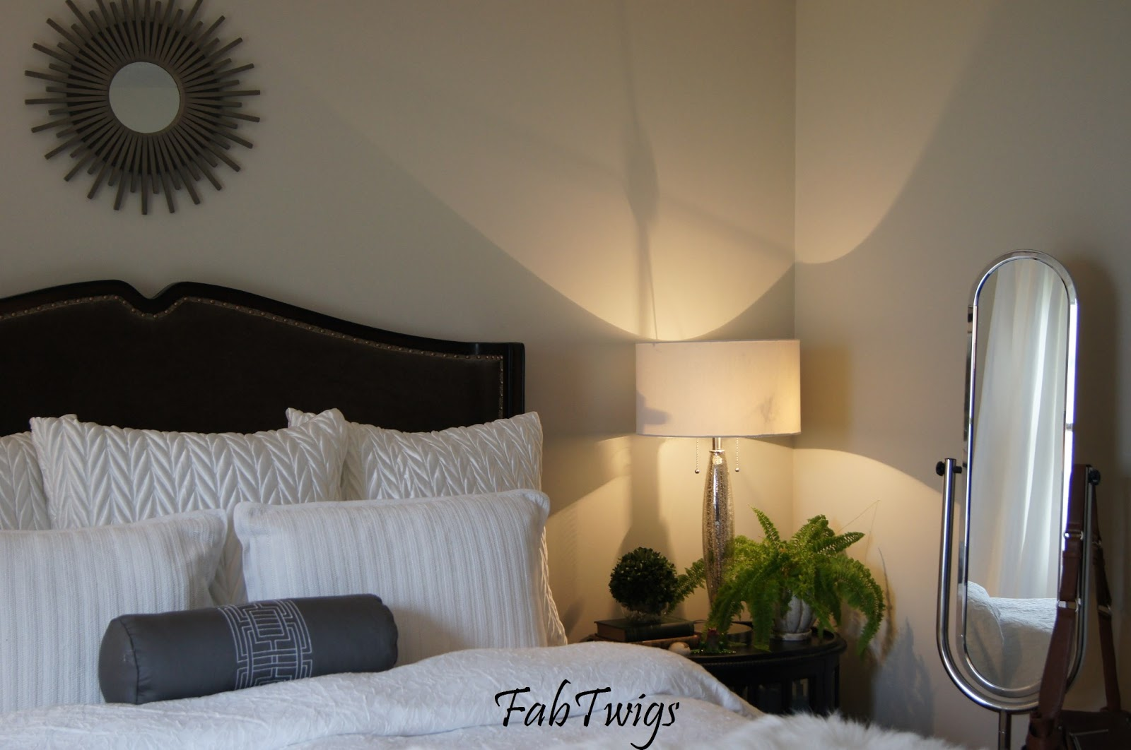 Fabtwigs It Has Been A While Gray Master Bedroom Is