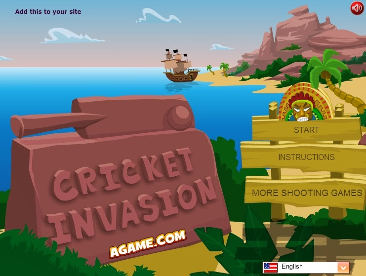Cricket Invasion