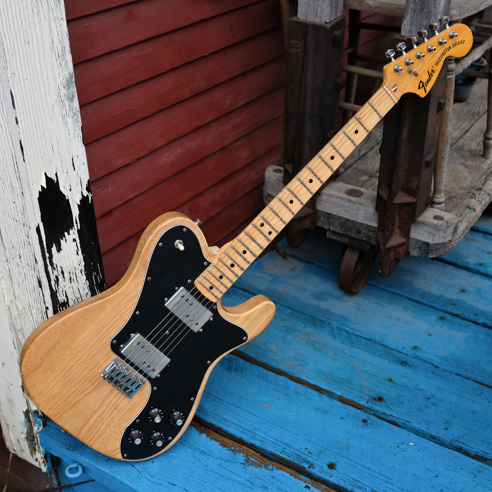 1973 fender telecaster deluxe electric