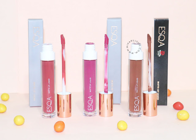 Review ESQA Matte Lip Liquid