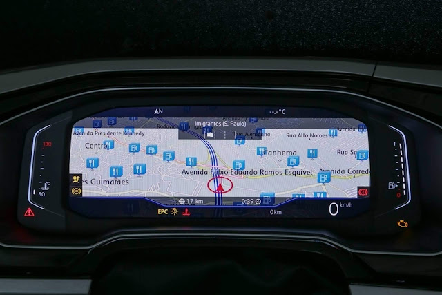 VW Polo 2018 200 TSI Automático - painel