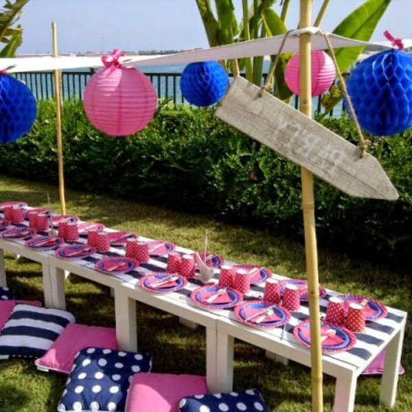 Ideas for Table decoration for birthday party of your child