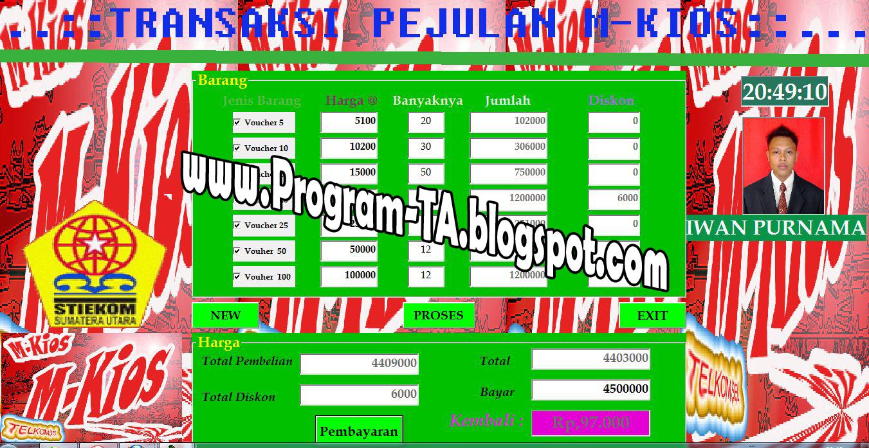 Image Result For Aplikasi Kios Pulsa