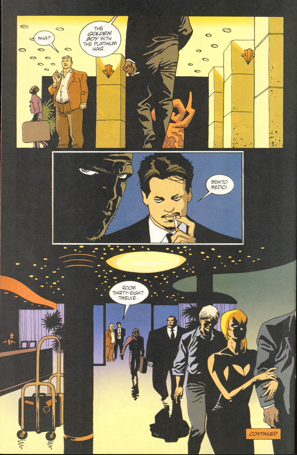 Read online 100 Bullets comic -  Issue #23 - 24