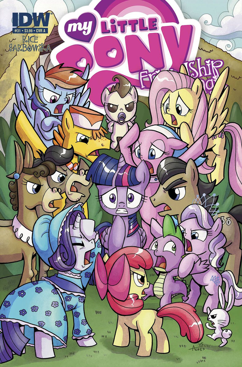 My Little Pony Friendship is Magic #31 Comic Cover A