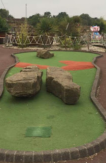 Thorpe Park Adventure Golf course in Cleethorpes by Gemma Rogers 230817