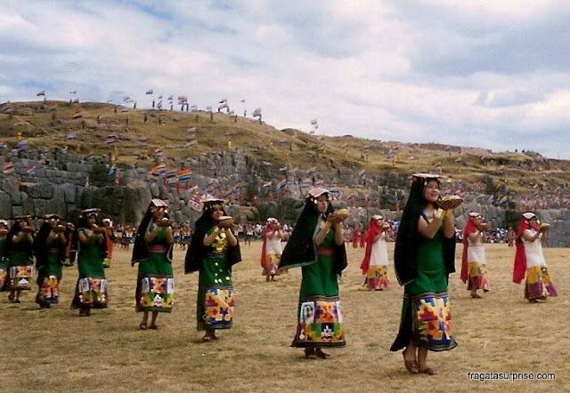 Inti Raymi, Festa do Sol no Templo de Saqsuayhamán - Cusco - Peru