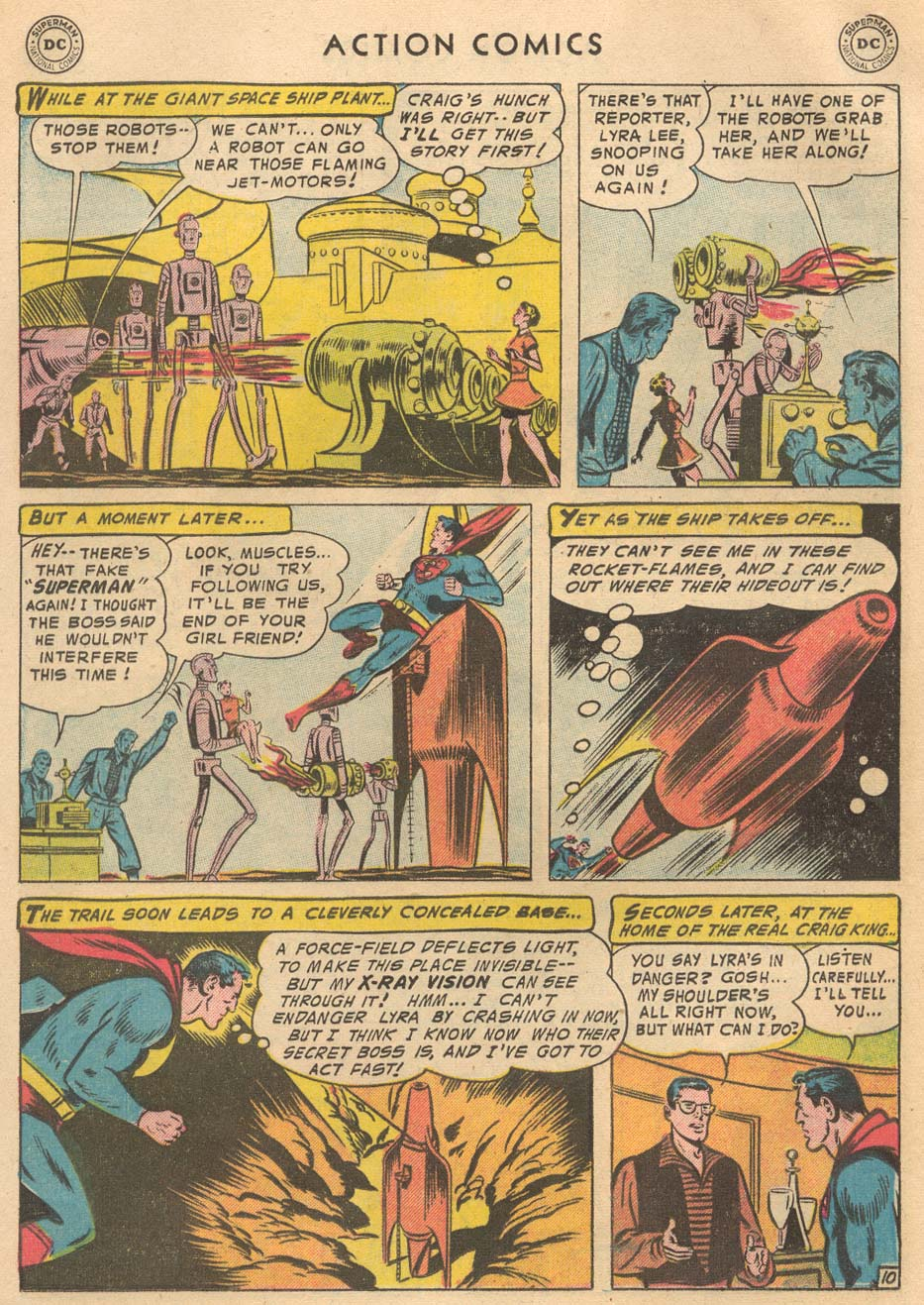 Read online Action Comics (1938) comic -  Issue #215 - 12