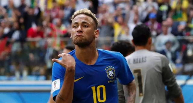 Brasil 2 - 0 Costa Rica